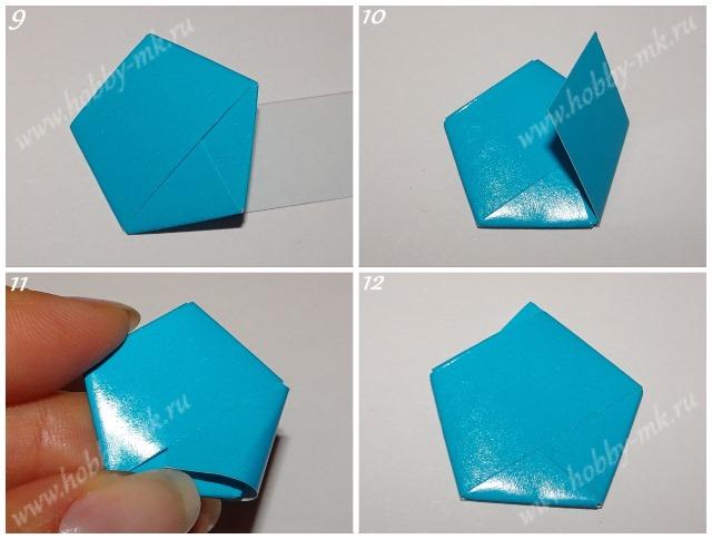 Звездочки из полосок бумаги ч.3