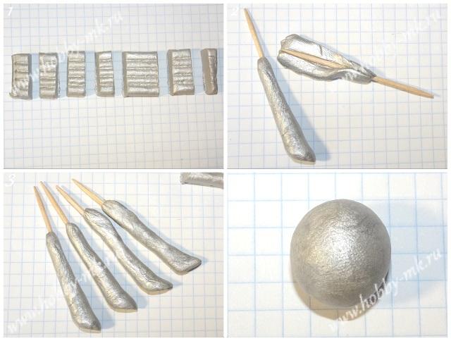 Как сделать Селестию из пластилина ч.1