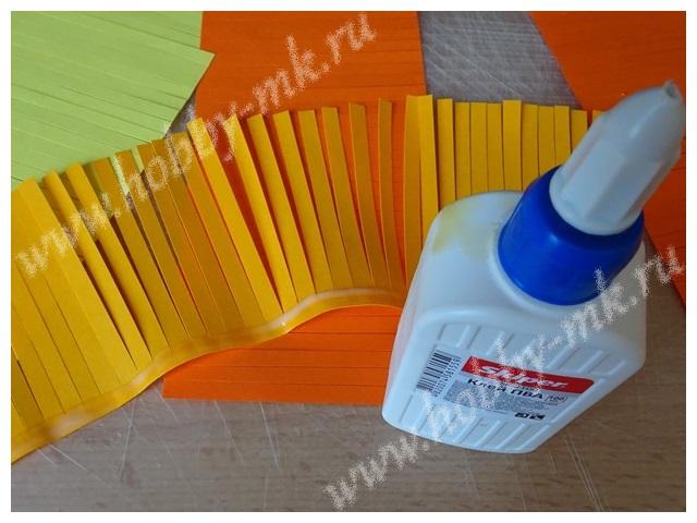 Как сделать гиацинт из бумаги ч.2