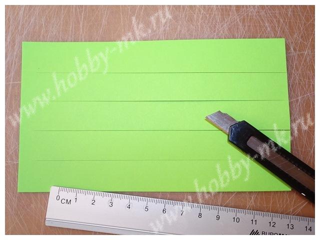 Как сделать гиацинт из бумаги ч.6