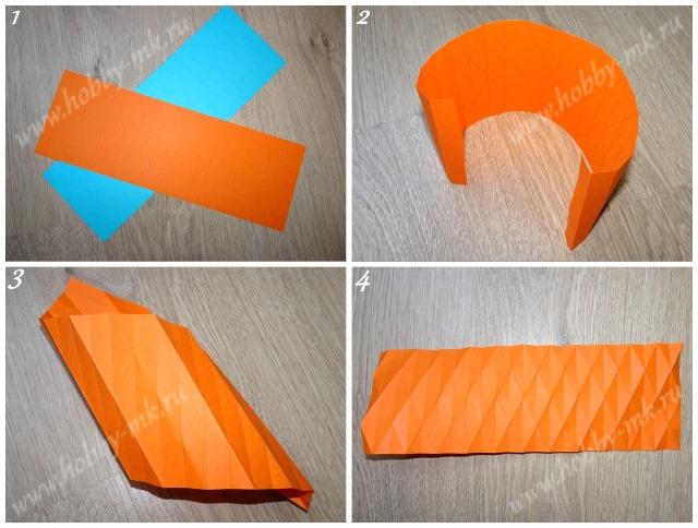 Как сделать объемный шар оригами ч.1