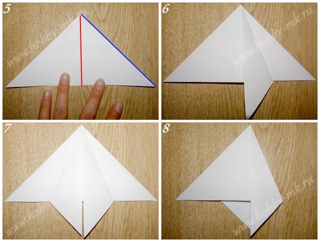 Как сделать простую елочку из бумаги ч.2
