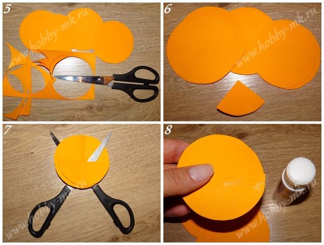 Как сделать шар из конусов ч.2