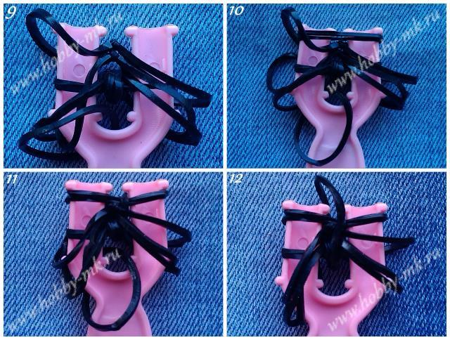 Как из резинок сделать кольцо паука