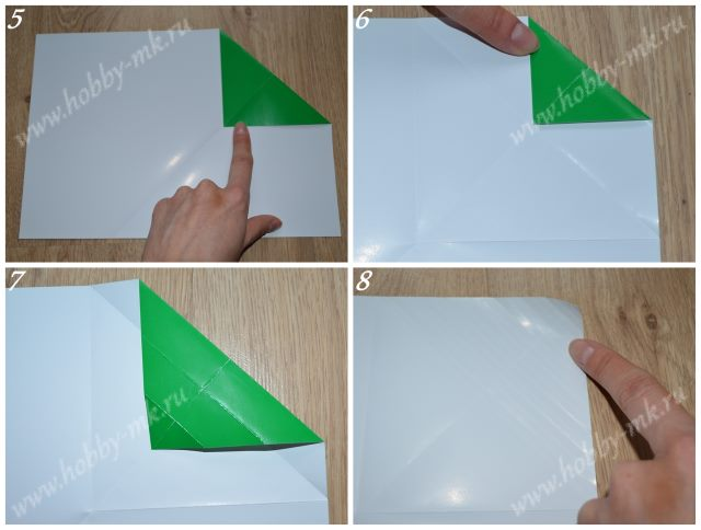 Как сделать конверт оригами