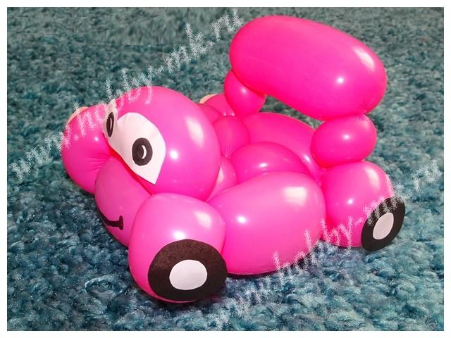 Машинка из одного шарика