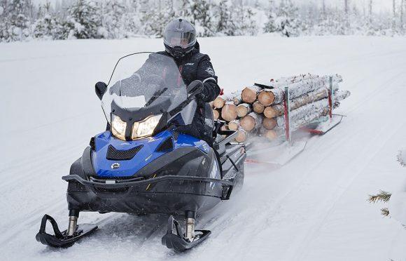 Утилитарный снегоход - о нем