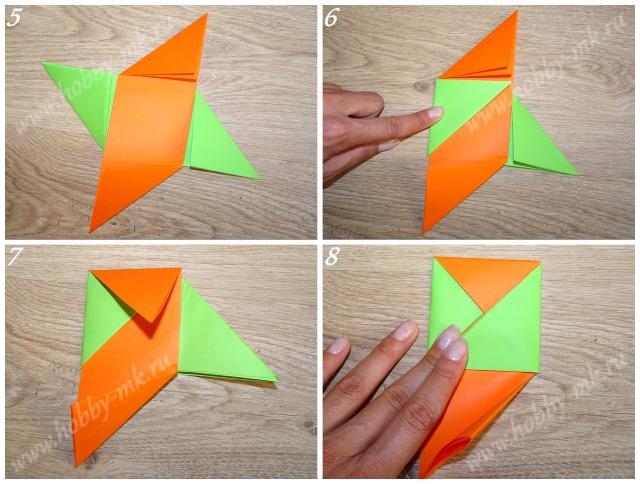 Как сделать волчок из бумаги ч.2