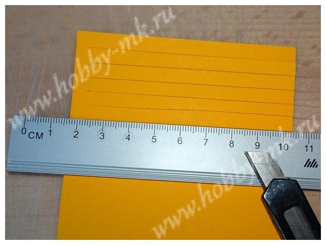Как сделать гиацинт из бумаги ч.1