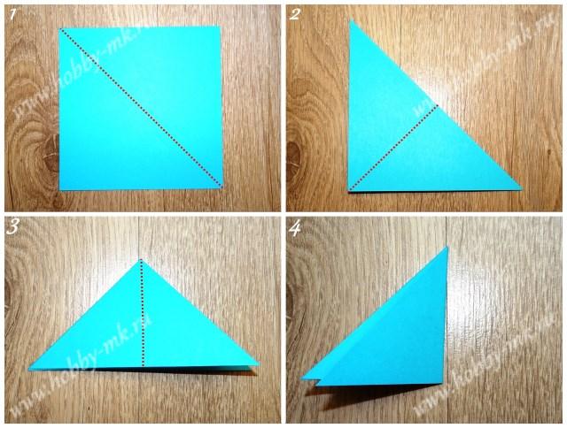 Как сделать объемные снежинки из бумаги ч.1