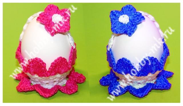 Пасхальная корзинка для яйца