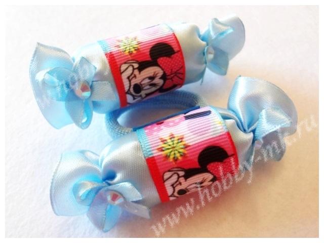 Украшение-конфетки для волос