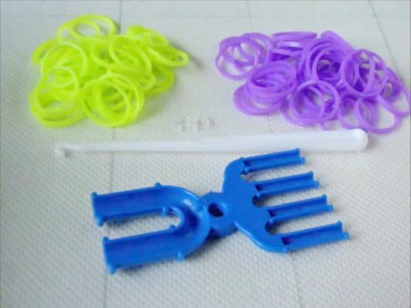 красивые браслеты из резинок