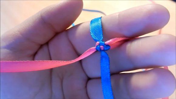 фенечка из лент